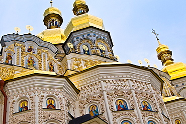 Ukraine, Kiev, Pechersk Lavra, or Monastery of the Caves.