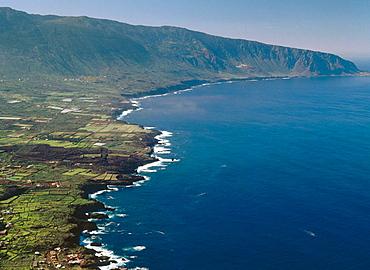 El Golfo bay, El Hierro, Canary Islands, Spain