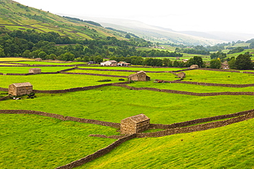 Gunnerside in the Yorkshire Dales in North Yorkshire, England, Britain, Uk
