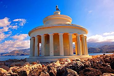 Fanari lighthouse or Agion Theodoron lighthouse, Kefalonia, Ionian Islands, Greece
