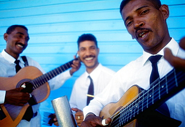 Musicians, Punta Cana, Dominican Republic, West Indies, Caribbean