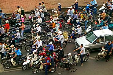 Motorcycles, Ho Chi Minh City, Vietnam