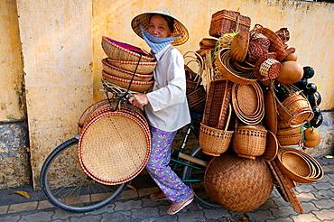 Street vendors, Ho Chi Min City (Saigon), Vietnam.