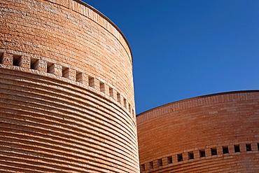 Israel, Tel Aviv, Tel Aviv University, Cymbalista Synagogue, architect, Mario Botta