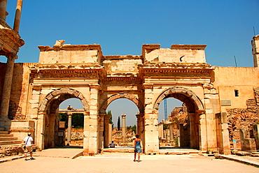 Gate of Augustus, Efesos, Aegean Region, Turkey