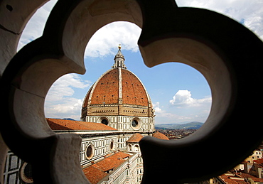 Brunelleschi cupola of Santa Maria del Fiore Cathedral, Florence, Italy