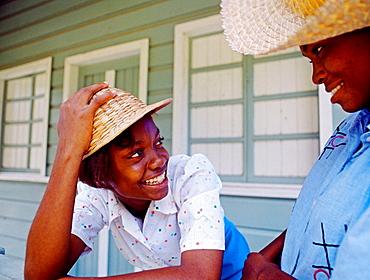 Women, Montego Bay, Jamaica, Caribbean