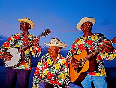 Musicians, Montego Bay, Jamaica, Caribbean