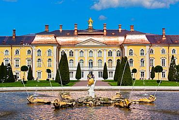 Russia, Saint Petersburg, Peterhof, Grand Palace