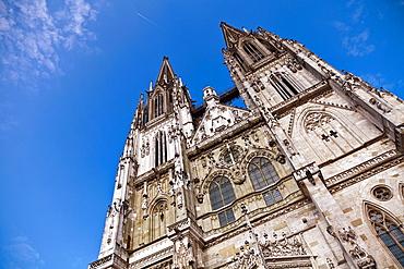 St  Peter's Cathedral, Regensburg, Bavaria, Germany