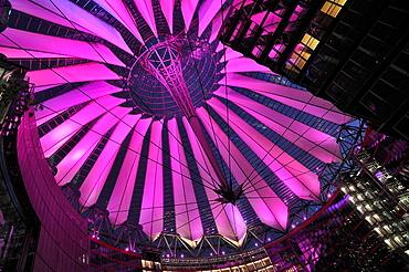 Potsdamer Platz, Sony Center, Berlin, Germany