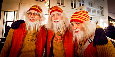 Icelandic Yule lads or Santa Claus, Reykjavik, Iceland  The Yule Lads from Icelandic Folklore who in modern times have become the Icelands version of Santa Claus.