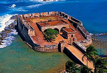 Fort San Jeronimo, El Condado, San Juan, Puerto Rico
