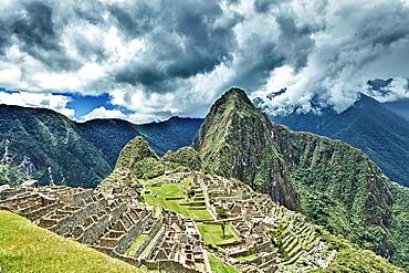 The famous Ruins, the lost city of Machu Piccu, Peru