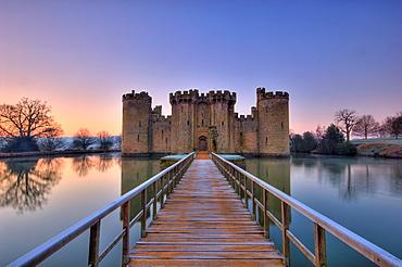 Bodiam Castle, Sussex, England, UK