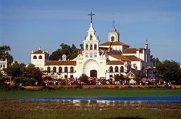 Ermita del Rocio,El Rocio, Almonte, Huelva province, Andalucia, Spain