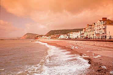 England Devon Sidmouth Beach