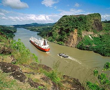 The Gaillard Cut, Panama Canal, Panama