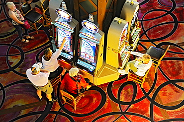 Casino Slot Machines Las Vegas Nevada Sin City Gambling Capital NV