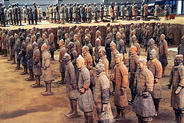 China, Shaanxi province, Xi´an, Army of Terracotta Warriors