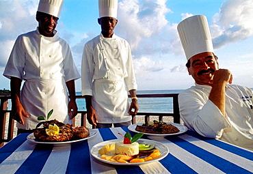 Restaurant, Sint Maarten, Netherlands Antilles