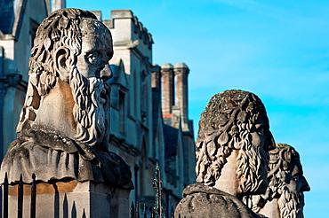 Emperor´s Heads, Sheldonian Theatre, Broad Street, Oxford