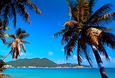 Beach, Philipsburg, Sint Maarten, Netherlands Antilles