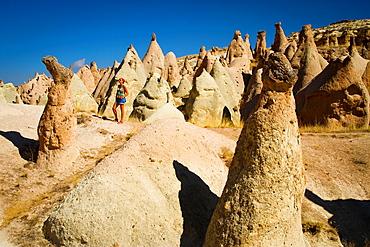 Fairy chimneys in Devrent Valley  Cappadocia, Turkey