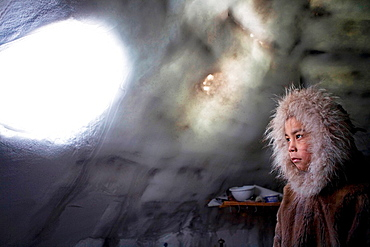 Gojahaven is a town in the far north of canada in 1000 where Inuits living Not many Inuits lots the skills of building an ingloo Only few old people still build them when they are hunting for animals