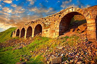 Iron ore kilns on Chimney bank, Rosedale  North Yorks National Park, North Yorkshire, England