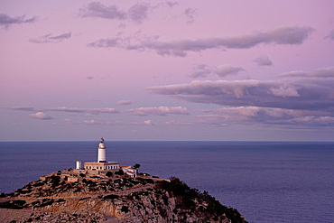 Lighthouse of Formentor Formentor Peninsula Pollenca Sierra de Tramuntana Mallorca Spain Balearic Islands