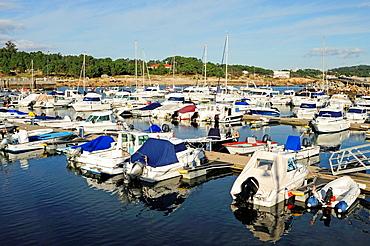 Marina in Pedras Negras quay  San Vicente do Mar, O Grove, Galicia, Spain