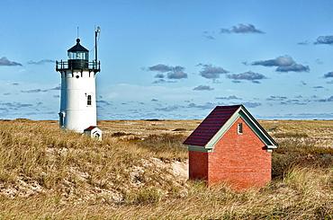Race Point Lighthouse, Provincetown, Cape Cod, MA, USA