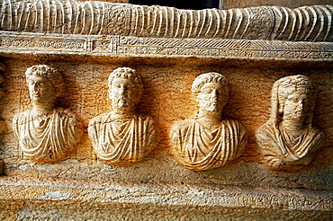 Archaeological museum, old Greco-Roman city of Palmyra, Syria