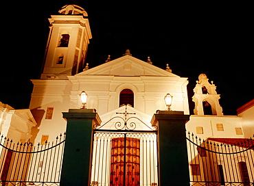 Colonial style Basilica of Nuestra Senora del Pilar (18th century), Buenos Aires, Argentina