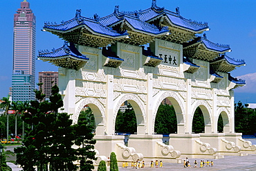 Taiwan Taipei Chiang Kai Shek Memorial
