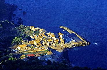 Port of Valldemossa, Valldemossa, Sierra de Tramuntana, Majorca, Balearic Islands Spain