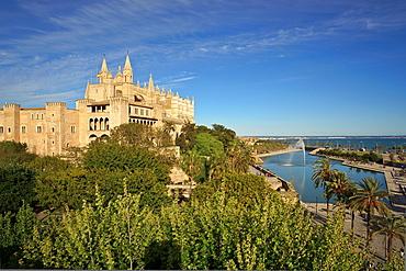 Cathedral 13th-20th century, Palma, Majorca, Balearic Islands, Spain