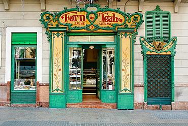 'Forn des Teatre', a famous bakery, Palma de Mallorca, Majorca, Balearic Islands, Spain