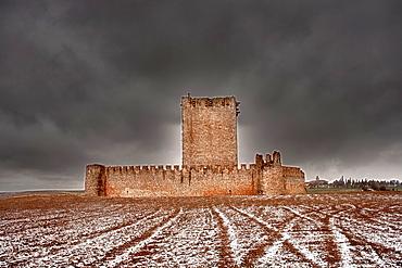 Tiedra castle, Valladolid province, Spain