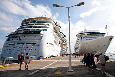 Royal Caribbean Cruises, St Maarten Island in the Caribbean