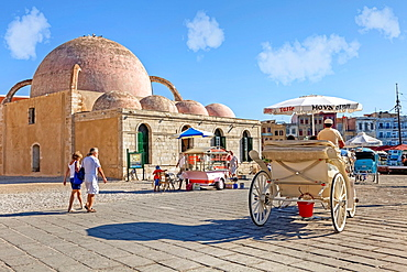 Hassan Pasha Mosque, Chania, Crete, Greece