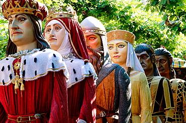 Celebrations of El Dia de las Penas, Burgos, Spain