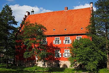D-Dortmund, Ruhr area, Westphalia, North Rhine-Westphalia, NRW, D-Dortmund-Lanstrop, house Wenge, manor house, aristocratic estate, Middle Ages, Gothic