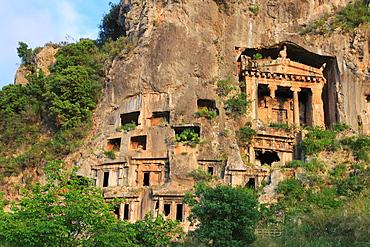 Lycian Tombs, Fethiye, Turkey