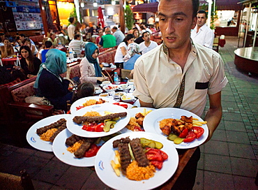 restaurant near the blue mosque, istanbul