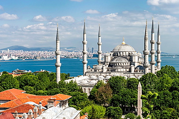 Sultan Ahmed Mosque or Blue Mosque, Istanbul, Turkey