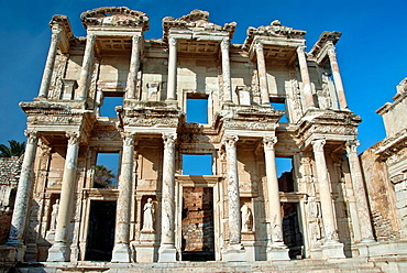 Library of Celsius, Ephesus, Selcuk, Izmir, Turkey