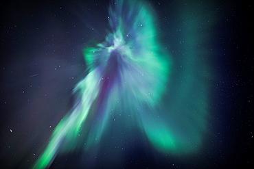 Aurora Crown of Aurora Borealis, Iceland