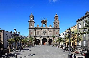 Spain, Canary Islands, Gran Canaria, Las Palmas, Cathedral, Plaza de Santa Ana